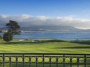Pebble Beach Golf Club, Carmel, California, USA by Rob Tilley