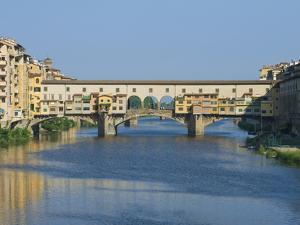 Ponte Vecchio and the Arno River at Sunrise, Florence, Tuscany, Italy by Rob Tilley