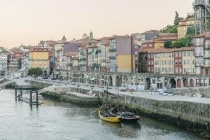 Portugal, Porto, Douro Waterfront at Dawn by Rob Tilley