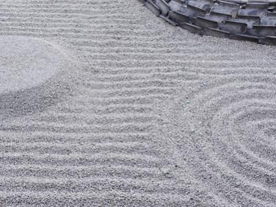 Raked Sand Patterns, Kodai-Ji Temple, Kyoto, Japan