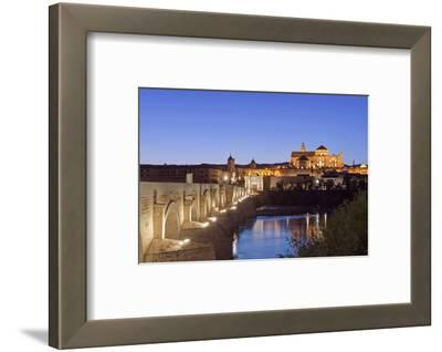 Roman Bridge, Catedral Mosque of Cordoba, Cordoba, Andalucia, Spain