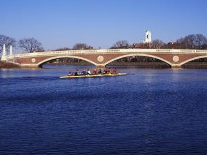 Sculling on the Charles River, Harvard University, Cambridge, Massachusetts by Rob Tilley