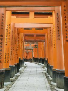 The ThoUSAnd Gates at Fushimi Inari Taisha, Kyoto, Japan by Rob Tilley