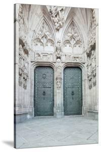 Toledo Cathedral Door, Toledo, Spain by Rob Tilley