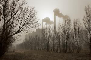 A Coal-Fired Power Plant Spews Fly Ash and Coal Dust over the Countryside by Robb Kendrick