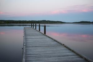 A Tranquil Evening on the Dock by Robbie George