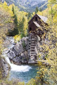 Crystal Mill Is Perched Precariously on a Rock Outcrop Above the Crystal River by Robbie George