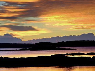 Maine Coast at Sunrise by Robbie George