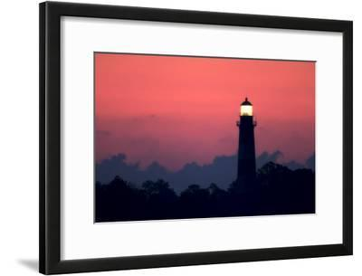 The Assateague Lighthouse Shining at Dawn