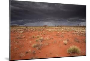 Storm Clouds Over Desert by Robbie Shone