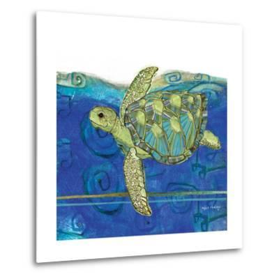 Coastal-Sea Turtle-Swirly Ocean
