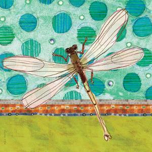 Dragonfly Earthtones by Robbin Rawlings