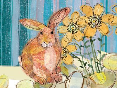 Floppy Bunny - Yellow Flowers