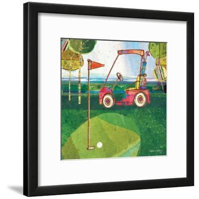 Golf Cart - Red