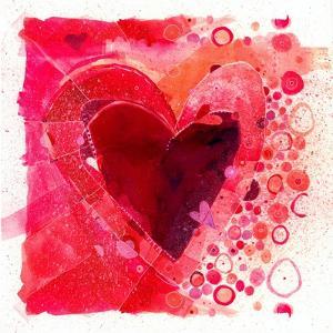 Heart7    watercolor, heart, painterly by Robbin Rawlings