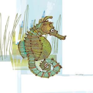 Marsh Seahorse Grass by Robbin Rawlings