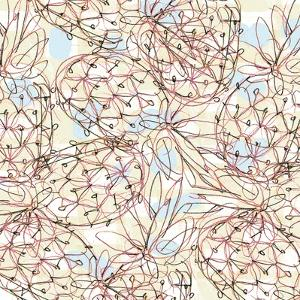 Pineapple patterns1-4   pineapple, pattern by Robbin Rawlings