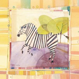 Playful Zebra by Robbin Rawlings