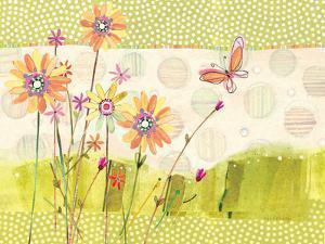 Polka Dot Butterfly1 by Robbin Rawlings