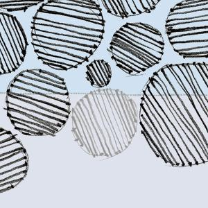 SandCircle5    pattern, blue, hand-drawn by Robbin Rawlings