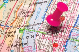A Push Pin In New York by robeo