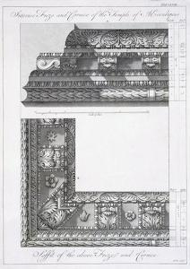 Interior Frieze and Cornice of the Temple of Aesculapius by Robert Adam
