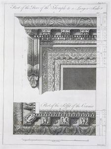 Part of the Door of the Temple by Robert Adam