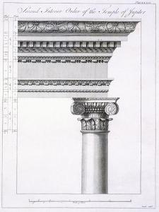 Second Interior Order of the Temple of Jupiter by Robert Adam