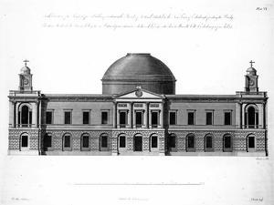 The South Elevation of Register House, Edinburgh, Engraved by J. Roberts, 1773 by Robert Adam