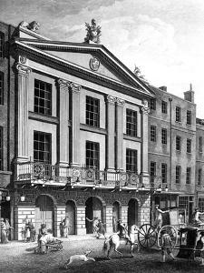 The Theatre Royal, Drury Lane, Engraved by Patrick Begbie, 1776 by Robert Adam
