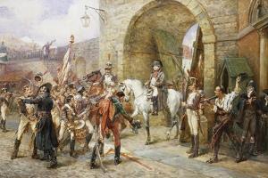 An Incident in the Peninsular War by Robert Alexander Hillingford