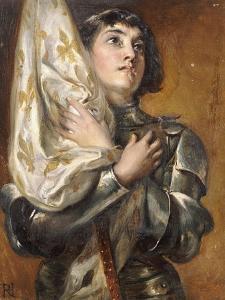 Joan of Arc by Robert Alexander Hillingford