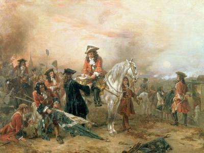 The Duke of Marlborough Signing the Despatch at Blenheim