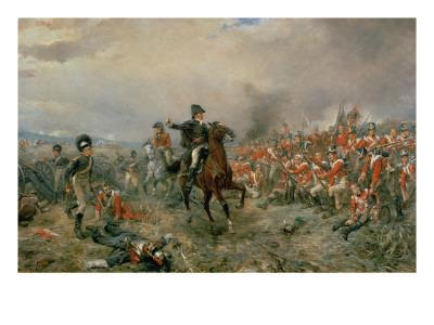 The Duke of Wellington at Waterloo
