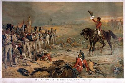 The Last Stand of the Imperial Guards at Waterloo in 1815