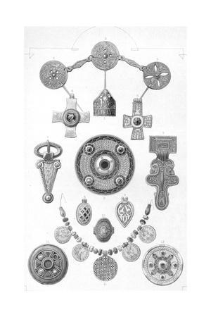 'Anglo-Saxon Relics. Personal Ornaments of Gold and Bronze', 1886