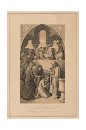 'The Baptism of Ethelbert King of Kent', 597 (1878)