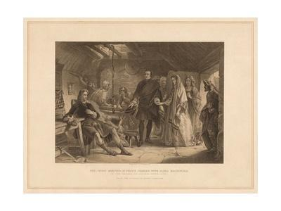 'The First Meeting of Prince Charles with Flora Macdonald', 1747 (1878)