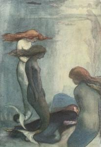 A Sea Dirge by William Shakespeare by Robert Anning Bell