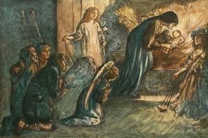 But See! the Virgin Blest Hath Laid Her Babe to Rest by Robert Anning Bell