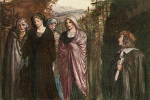 Come Pensive Nun, Devout and Pure, Sober, Steadfast, and Demure by Robert Anning Bell