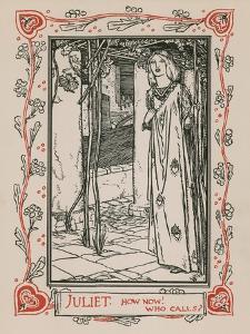 Juliet, Romeo and Juliet by Robert Anning Bell