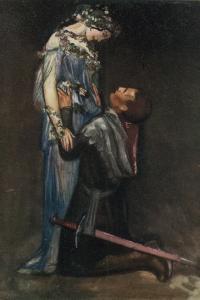 La Belle Dame Sans Merci by John Keats by Robert Anning Bell