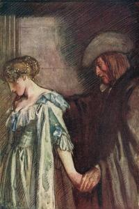 Love's Farewell by Michael Drayton by Robert Anning Bell