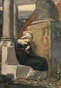 Melancholy by John Fletcher by Robert Anning Bell