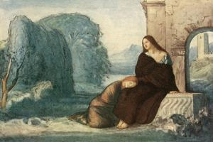 Music, When Soft Voices Die, Vibrates in the Memory by Robert Anning Bell