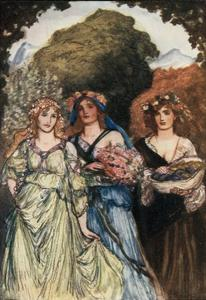Ode to Winter by Thomas Campbell by Robert Anning Bell