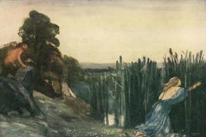 Pan Did after Syrinx Speed by Robert Anning Bell