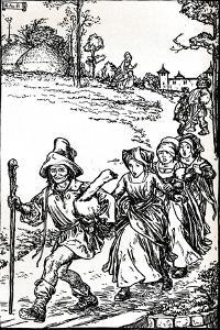 The Golden Goose from Grimms Household Tales, C1900 (1901-1902) by Robert Anning Bell