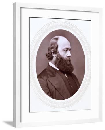 Robert Arthur Talbot Gascoyne-Cecil, 3rd Marquis of Salisbury, British Statesman, 19th Century--Framed Photographic Print